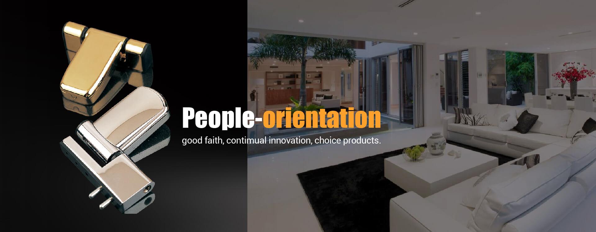 الناس التوجه ، بحسن نية ، الابتكار المعاصر ، اختيار المنتجات