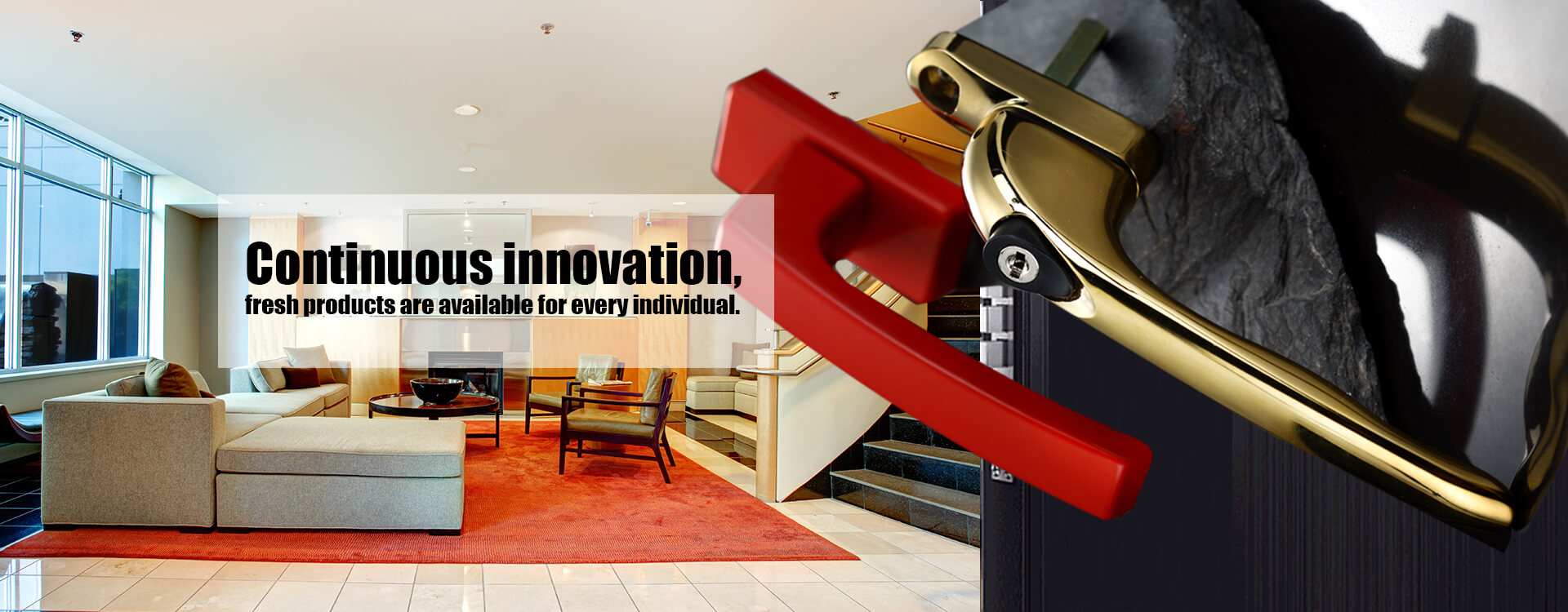 الابتكار المستمر ، المنتجات الطازجة متاحة لكل فرد